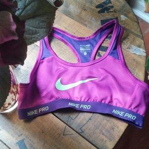 Size L Nike Pro Dri-fit Sports Bra
